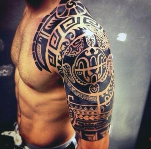Perfect tribal tattoo idea