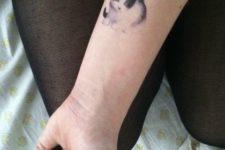 Portrait cat tattoo