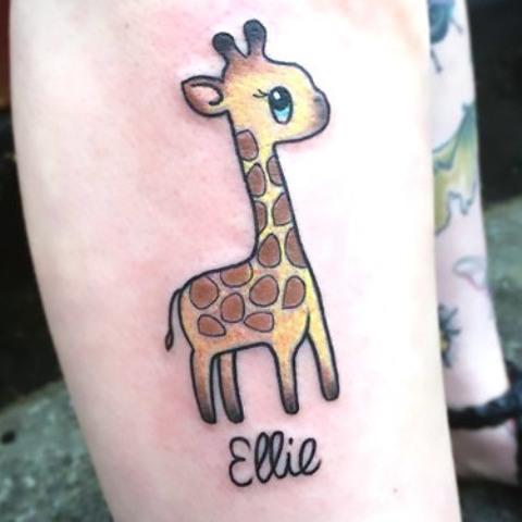 Small and cute tattoo idea
