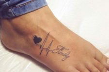 Tattoo on the foot