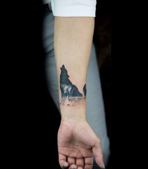 Wolf Wrist Tattoo Designs Ideas And Meaning: 22 Small Wolf Women Tattoo Ideas