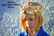 DIY crown inspired by Maleficent