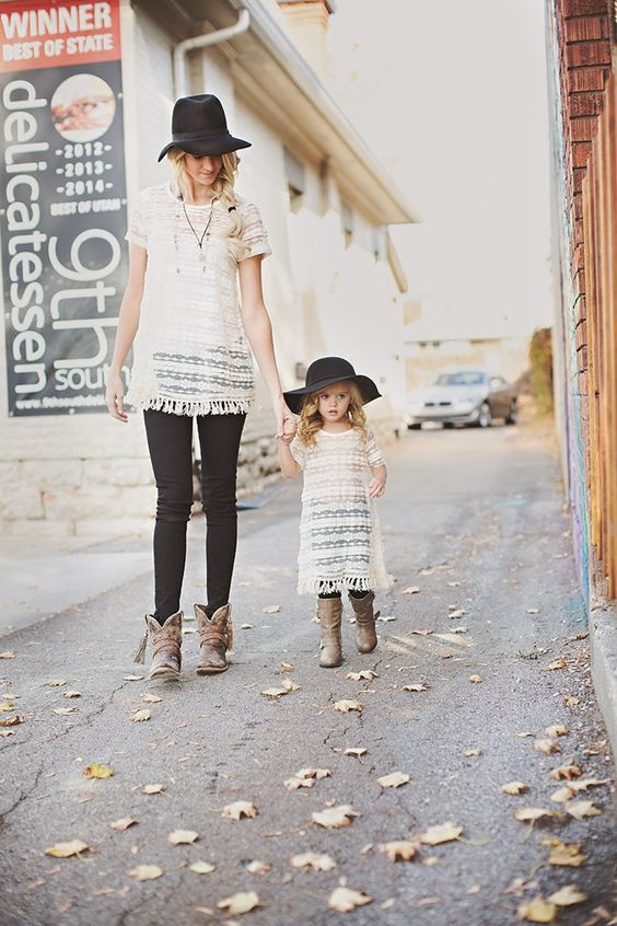 black jeans, crochet shirts and cowboy style boots
