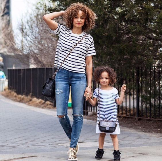 17 Matching Mom And Daughter Spring Outfits - Styleoholic-5298