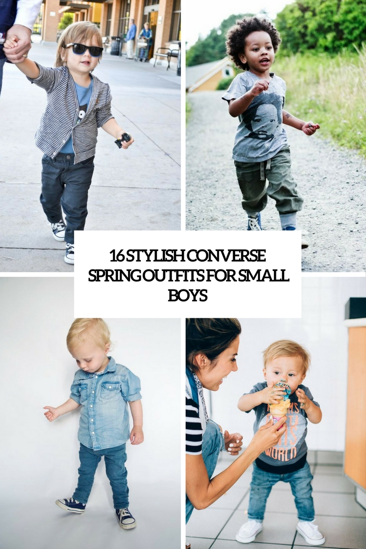 16 Stylish Converse Spring Outfits For Small Boys