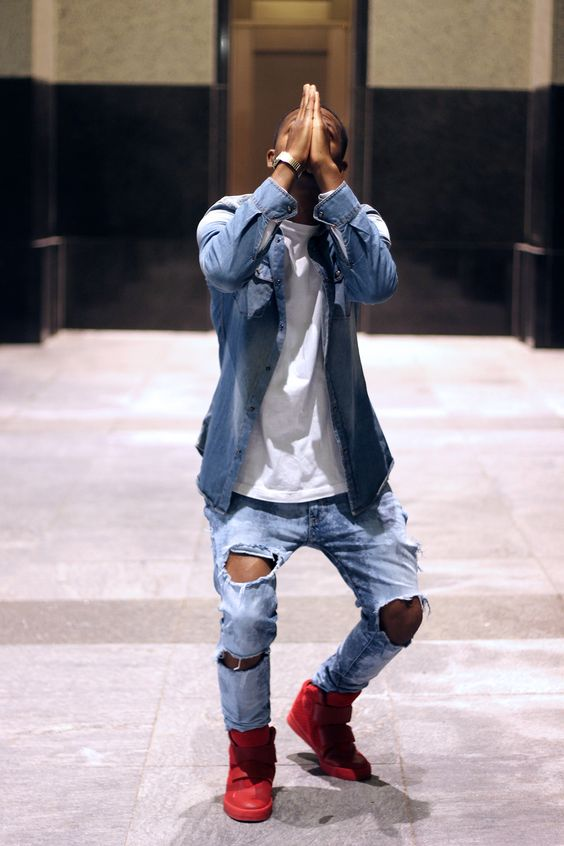 20 Stylish Ripped Jeans Spring Outfits For Men
