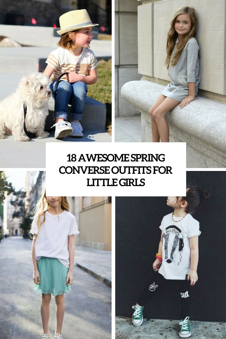 awesome spring converse outfits for little girls cover