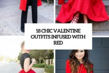 18 chic valentine outfits infused with red cover