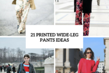 21 Cool Printed Wide-Leg Pants Ideas To Repeat