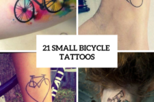 21 Small Bicycle Women Tattoo Ideas To Repeat