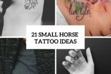 21 Small Horse Tattoo Ideas For Women