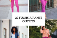 22 Fuchsia Pants Outfits For Stylish Ladies