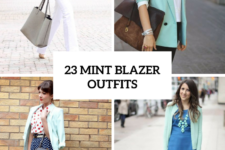23 Adorable Outfits With Mint Blazers For Stylish Ladies