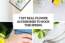 7 diy real flower accessories to rock this spring cover