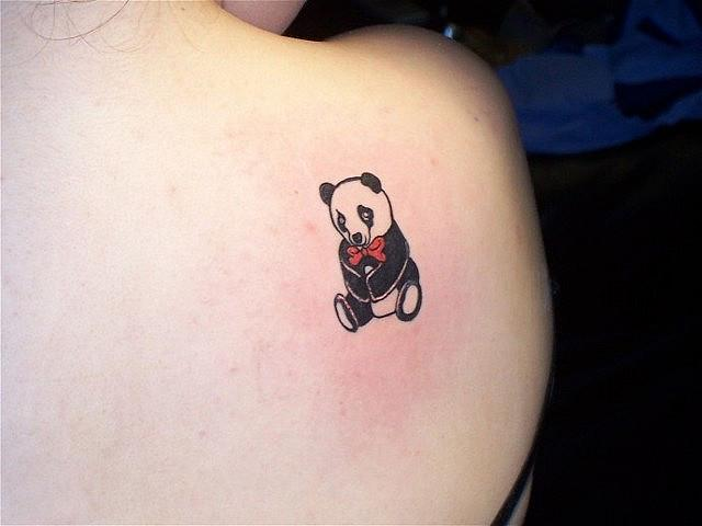 Awesome tattoo on the shoulder