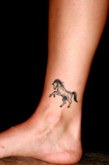 Horse Tattoo Small: 21 Small Horse Tattoo Ideas For Women