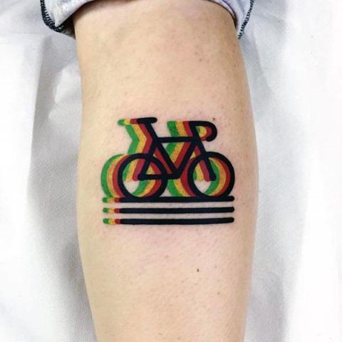 Modern tattoo idea