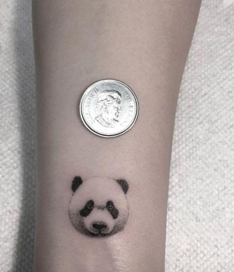 24 Small Panda Bear Tattoo Ideas For Girls