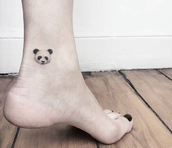 Tattoo on the ankle