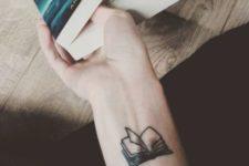 Tattoo on the wrist