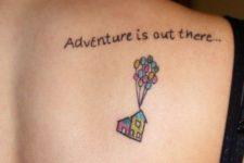Travel inspired tattoo idea