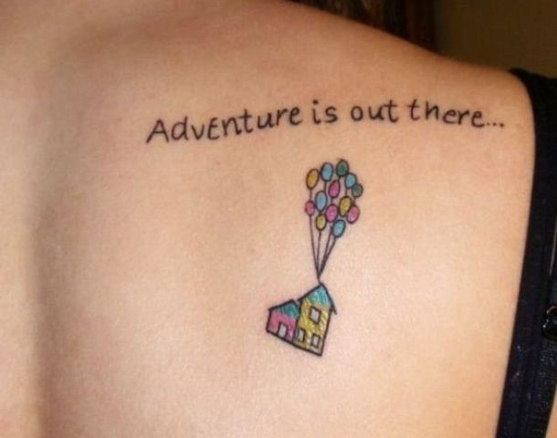 Travel inspired tattoo idea