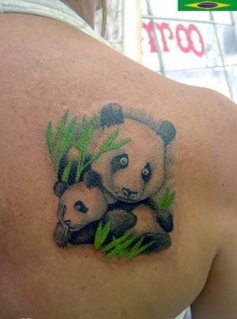 24 small panda bear tattoo ideas for girls styleoholic for Baby panda tattoo