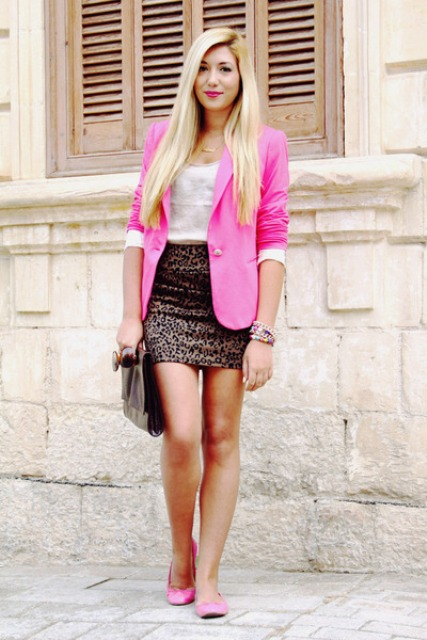 21 Hot Pink Blazer Outfits For Women Styleoholic