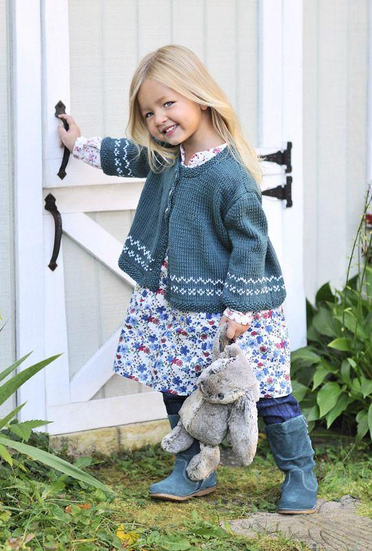 a floral dress, a crochet cardigan, suede boots