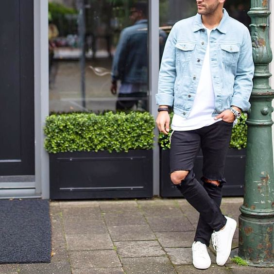 20 Men Looks With A Denim Jacket To Wear This Spring