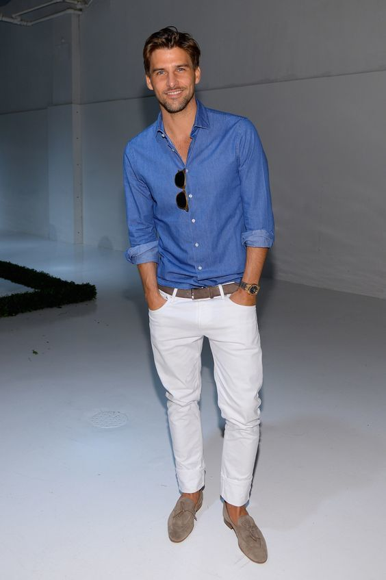 15 Spring White Jeans Outfits For Men - Styleoholic