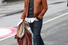 men jacket's look