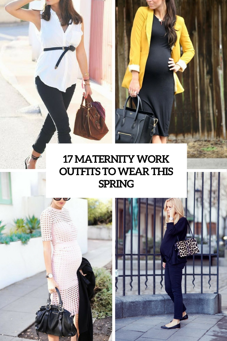 maternity work outfits to wear this spring cover