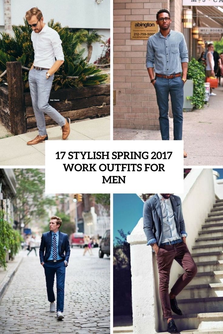 stylish spring 2017 work outfits for men cover