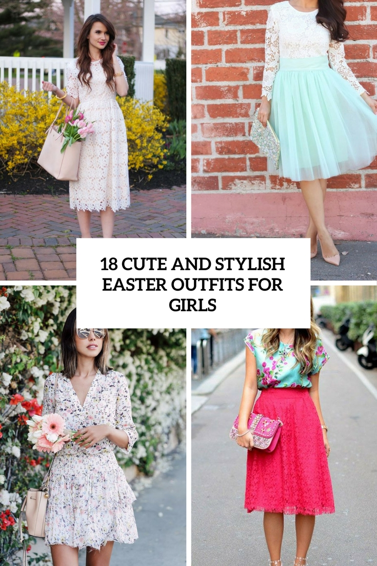 cute and stylish easter outfits for girls cover