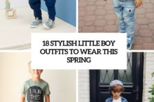 18 stylish small boy outfits to wear this spring cover