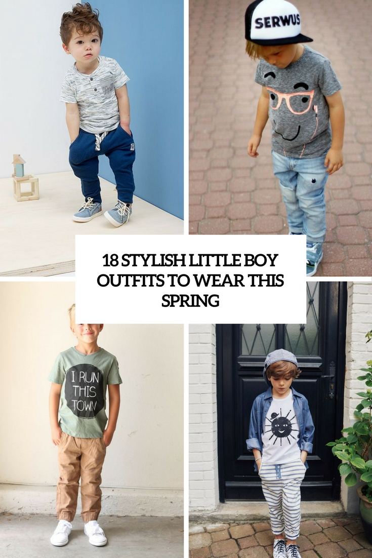 18 Stylish Little Boy Outfits To Wear This Spring