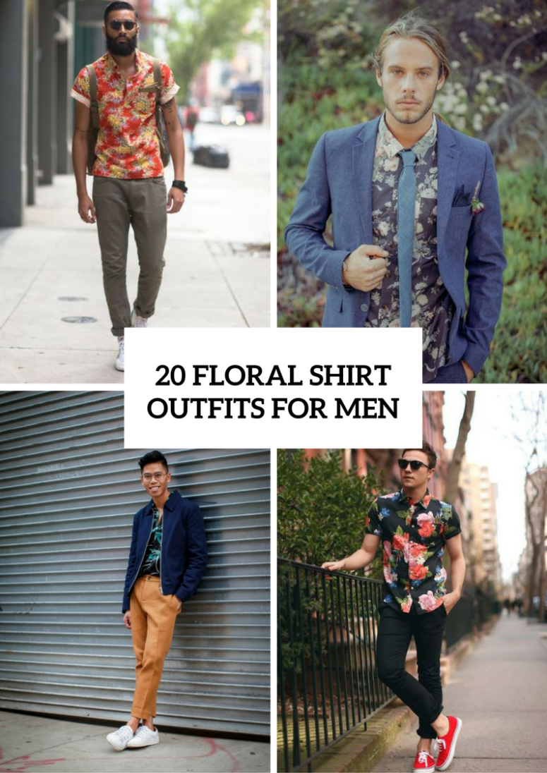 20 Floral Shirt Outfits For Men