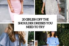 20 girlish off the shoulder dresses you need to try cover