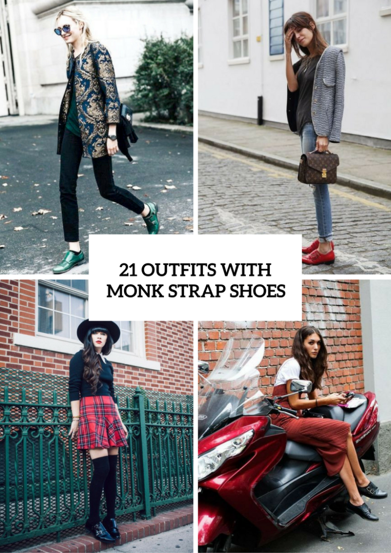 21 Trendy Outfits With Monk Strap Shoes For Women