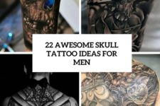 22 awesome skull tattoo ideas for men cover