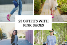 23 Women Outfit Ideas With Pink Shoes For This Season