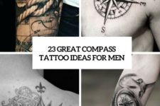 23 great compass tattoo ideas for men cover