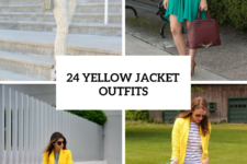 24 Sunny Outfits With Yellow Jackets