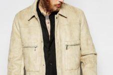 men jacket look