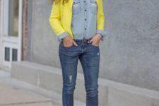 skinny jeans look