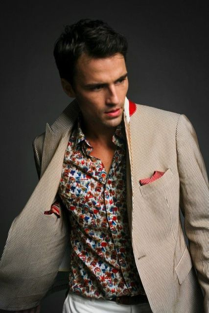 20 Floral Shirt Outfits For Men Styleoholic