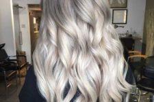 03 ashy grey hair with blonde balayage