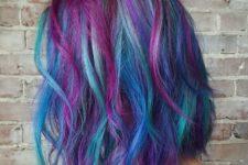 03 blue hair with purple balayage