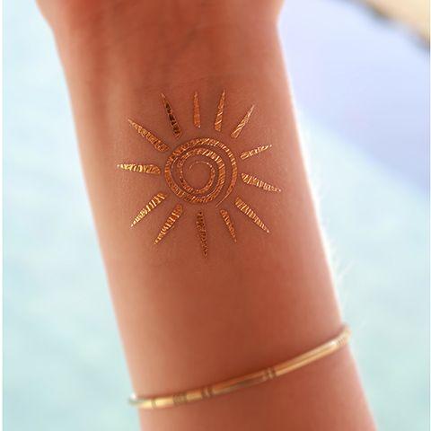 sun henna tattoo